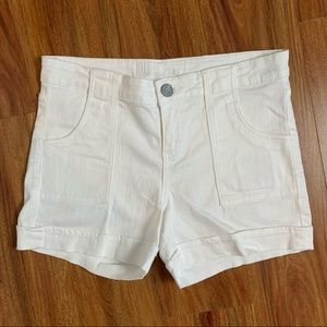 Kut from the  Kloth White Shorts